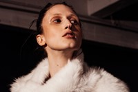 Joseph AW15, Womenswear, Dazed, White, Fur