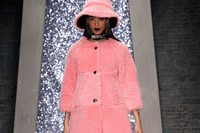 Ashley Williams AW15, Womenswear, Pink Fur Hat And Coat
