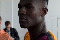 Astrid Andersen SS15 Mens collections, Dazed backstage