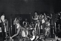 Betty onstage, 1974