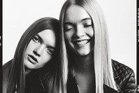 Ruth and May Bell for AllSaints Happy Mondays