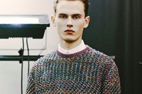 Backstage at Krisvanassche AW14