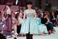 chanel couture aw17 paris karl lagerfeld eiffel tower