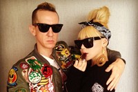 Jeremy Scott and CL