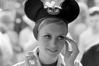 Twiggy, Disneyland, 1967
