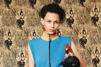 Binx Walton wears Louis Vuitton AW14