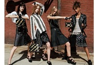 Jaden Smith Louis Vuitton skirt dress womenswear