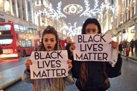 black lives matter protest photo