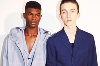 3.1 Phillip Lim SS15 Mens collections, Dazed backstage