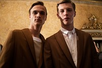 Ports 1961 SS15 Mens collections, Dazed backstage