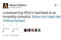 Tweets from #FollowMyHeart Shia LaBeouf