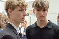 Margaret Howell SS15 Mens collections, Dazed backstage