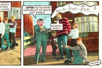 Frank Sidebottom Strip in Oink!