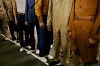 Louis Vuitton SS15 Mens collections, Dazed backstage