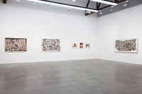 Larry Clark exhibition space