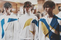 Alexander McQueen SS15 Mens collections, Dazed backstage