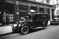 Cartier delivery vehicle