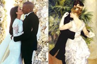 Dance in the City (1883) / Kim And Kanye's Wedding
