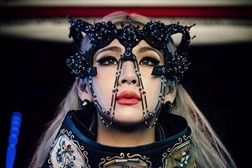 CL on the set of her 'Hello Bitches' video