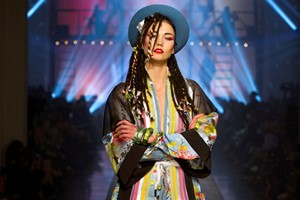 Karlie Kloss as Boy George