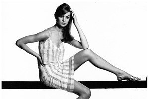 Jean Shrimpton 1965 vogue bailey