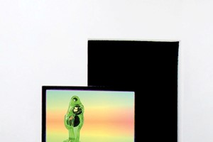 Violet Likes Psychic Honey 2, sculptural video, in