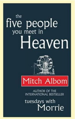 the five people you meet in heaven essay The five people you meet in heaven is a novel by mitch albom it follows the life and death of a maintenance man named eddie in a heroic attempt to save a little girl from a falling amusement park ride, eddie is killed and sent to heaven where he encounters five people who significantly impacted him while he was alive.