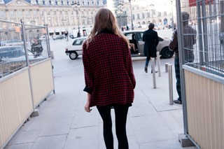 Running out of Valentino, Place Vendôme