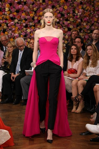 Dior haute couture AW12, photography courtesy of C