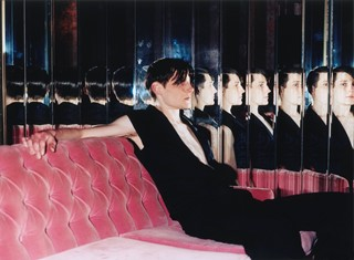 Model in Mirror for Mixmag, New York, 2000