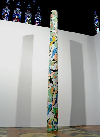Patterned Column-web