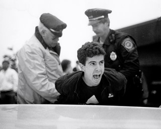 Peter Staley, ACT UP arrest - HiRes