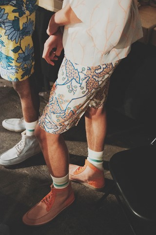 Topman SS15 Mens collections, Dazed backstage