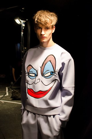MAN SS15 Mens collections, Dazed backstage