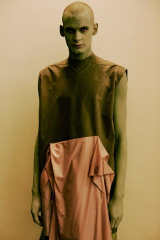 Rick Owens SS15 Mens collections, Dazed backstage