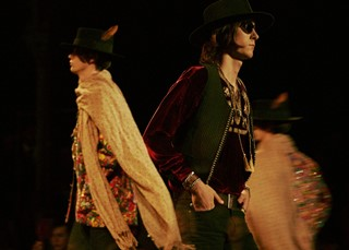 Saint Laurent SS15 Mens collections, Dazed