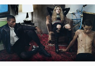 All clothes by Givenchy by Riccardo Tisci