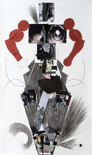 Jannis Varelas, Untitled, 2010 (mixed media on pap