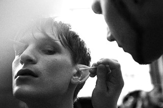 Exclusive backstage photography by Brett Lloyd