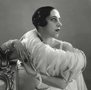Elsa Schiaparelli in 1932, Photographed by George