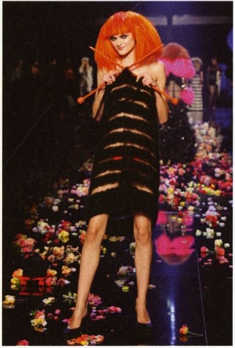 Dress by Jean-Paul Gaultier on the occasion of the
