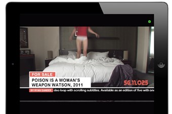 Ryan Gander, Poison is a Womans Weapon Watson,  20