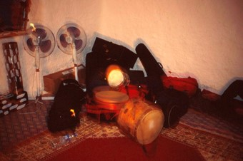 3 INSTRUMENTS IN THE MADRAS, JAJOUKA 2013