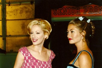 Judy Greer and Rebecca Gayheart