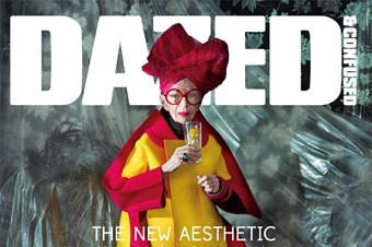 Iris Apfel on the cover of our November art specia