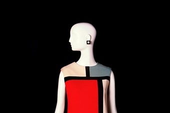 Cocktail Dress (tribute to Mondrian), Fall-Winter