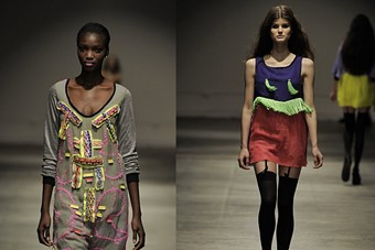 Louise Gray A/W 0-9 collection.