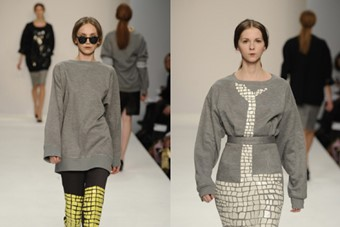 Natascha Stolle MA collection shown as part of Cen
