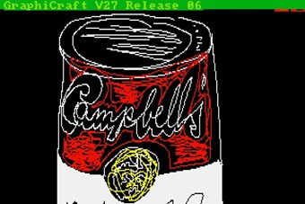Cory Andy Warhol Campbell's 1985