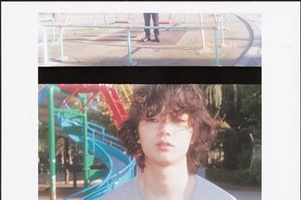 Shota Sometani wears top by Gucci; shoes by Dior H